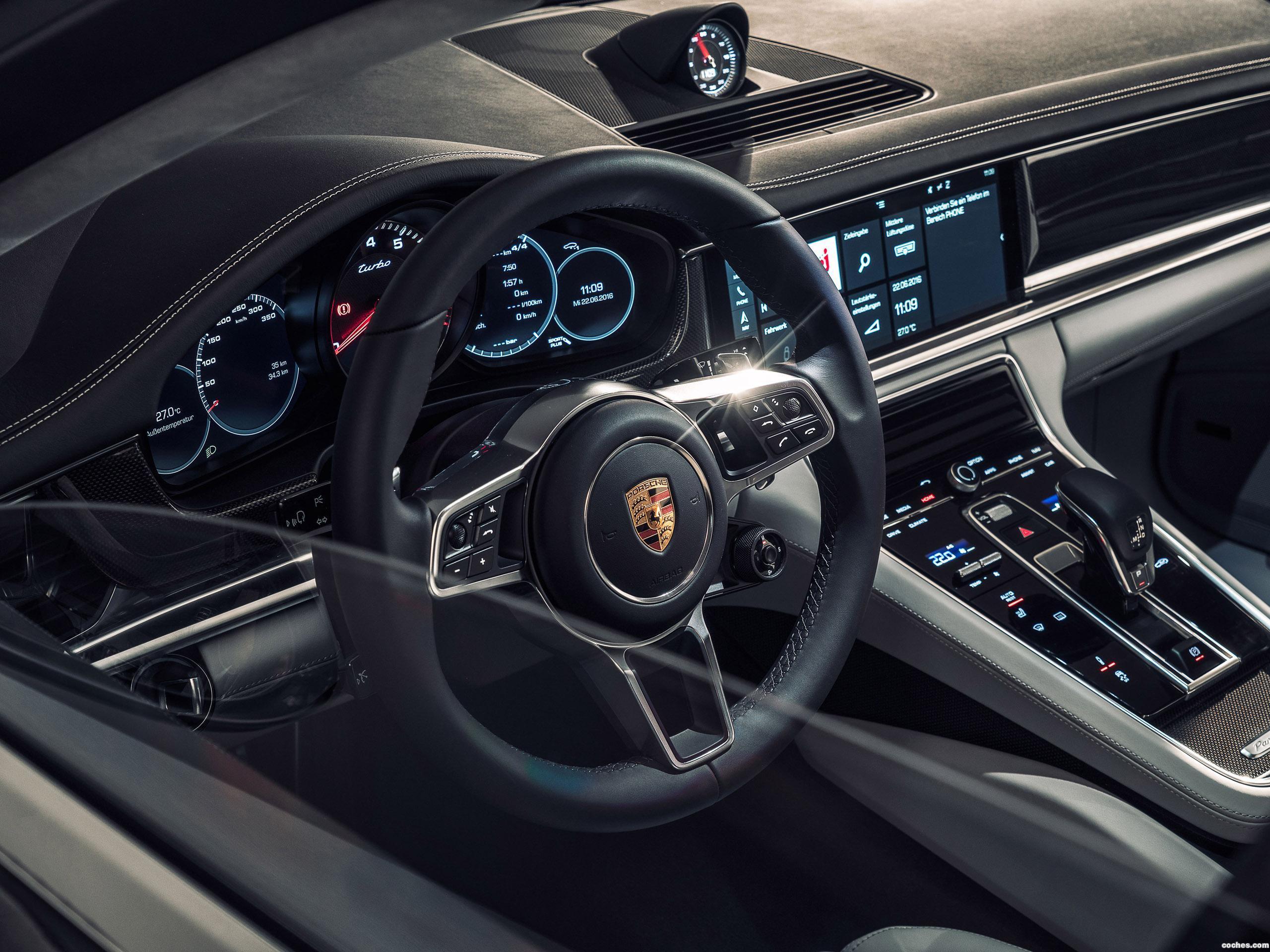 Foto 20 de Porsche Panamera Turbo 2016
