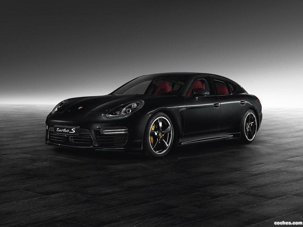 Foto 0 de Porsche Panamera Turbo S Exclusive 2014