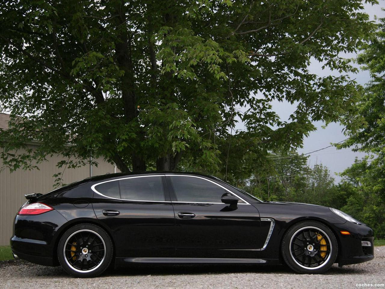 Foto 4 de Porsche Switzer Panamera Turbo 2011