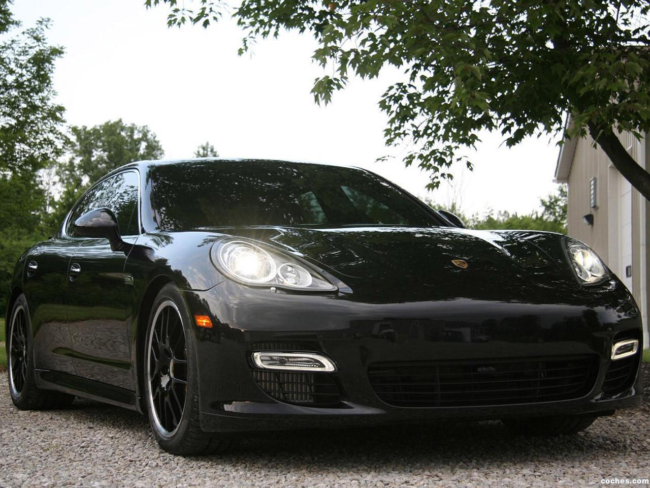 Foto 1 de Porsche Switzer Panamera Turbo 2011