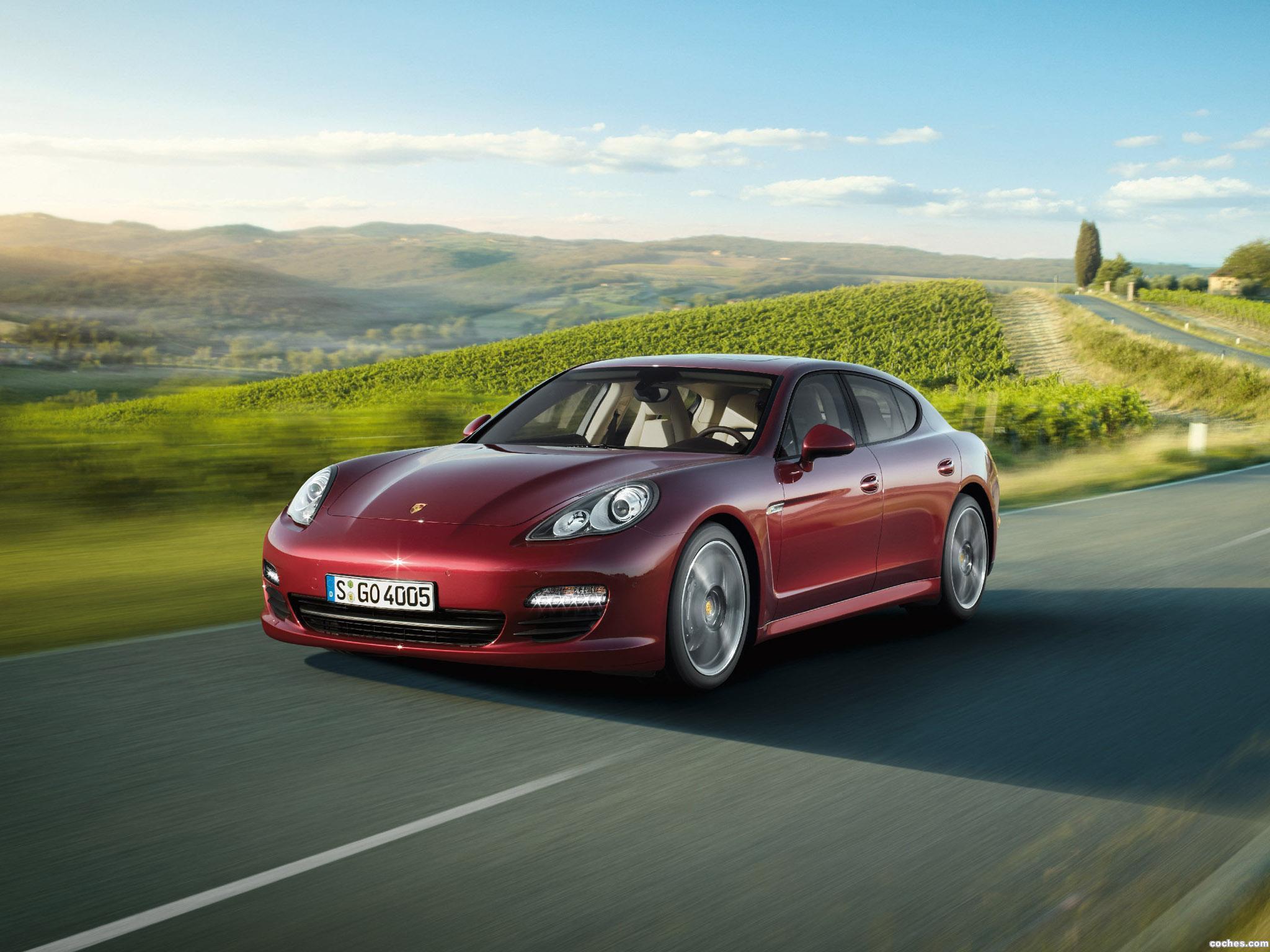 Foto 0 de Porsche Panamera V6 2010