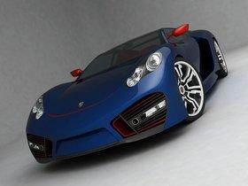 Ver foto 6 de Porsche Supercar Design Concept 2009 by Emil Baddal