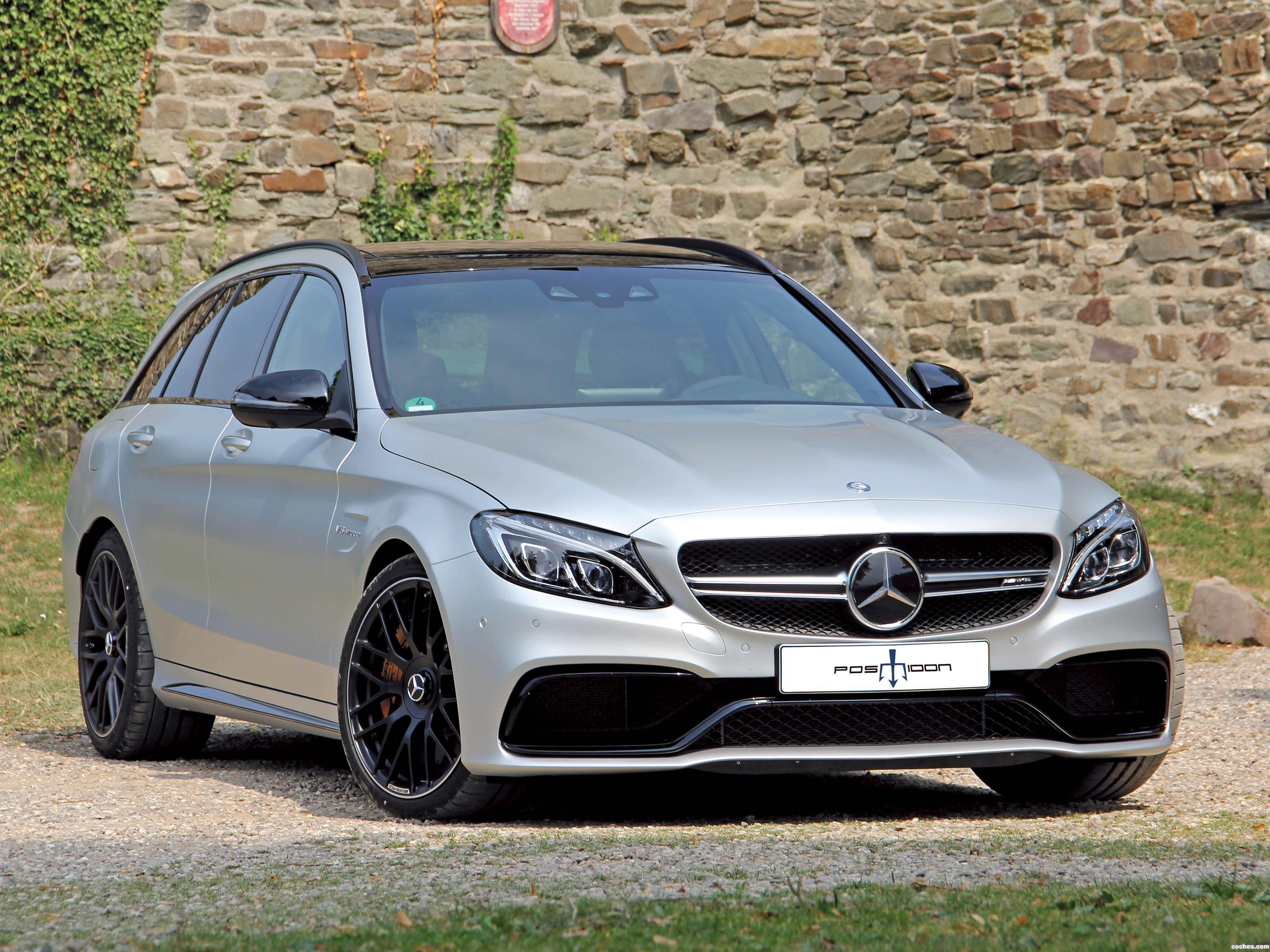 Foto 0 de Mercedes Posaidon AMG C63 Estate S205 2015