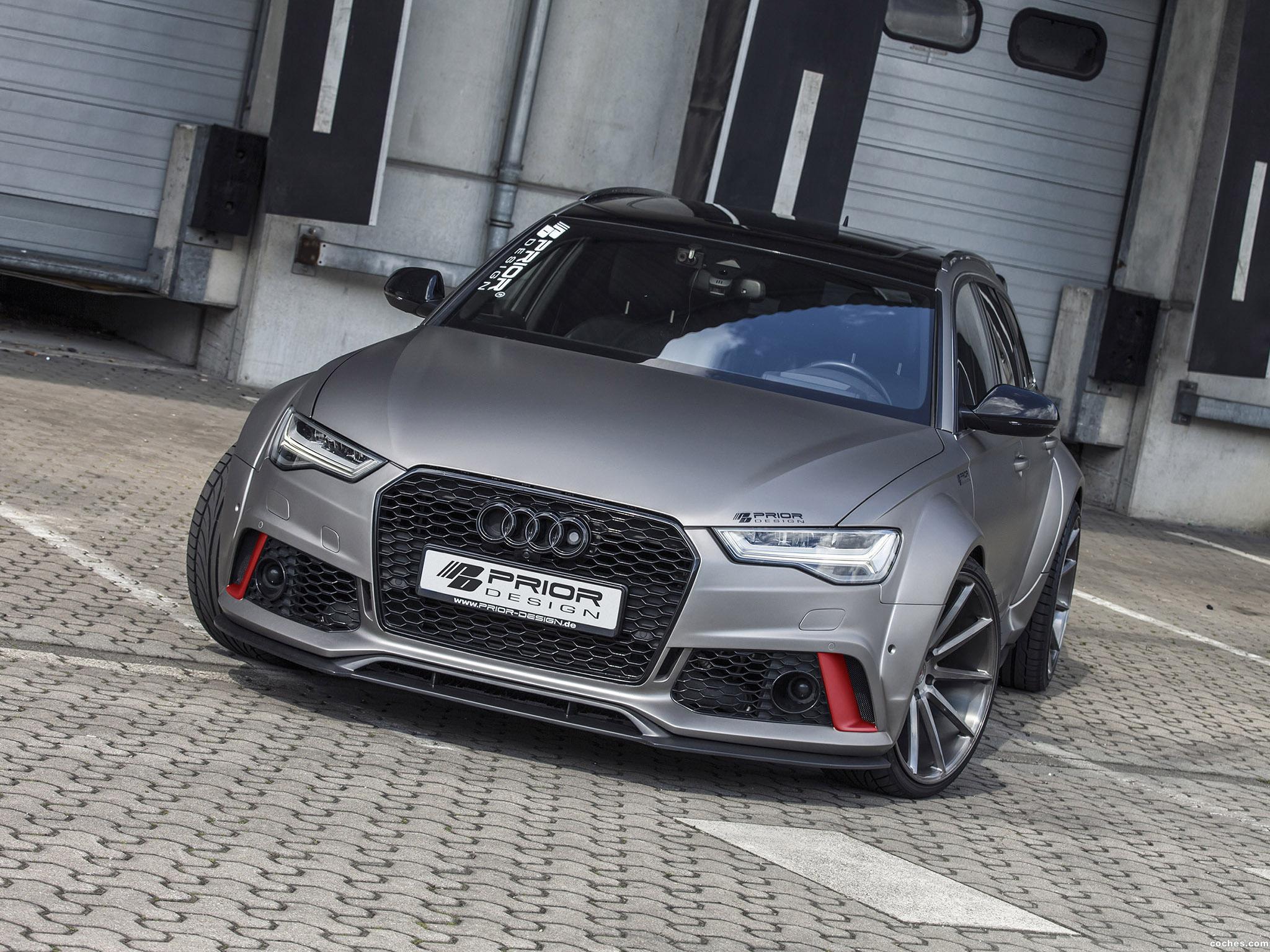 Foto 0 de Prior-Design Audi RS6 Avant Widebody Aerodynamic Kit 2016