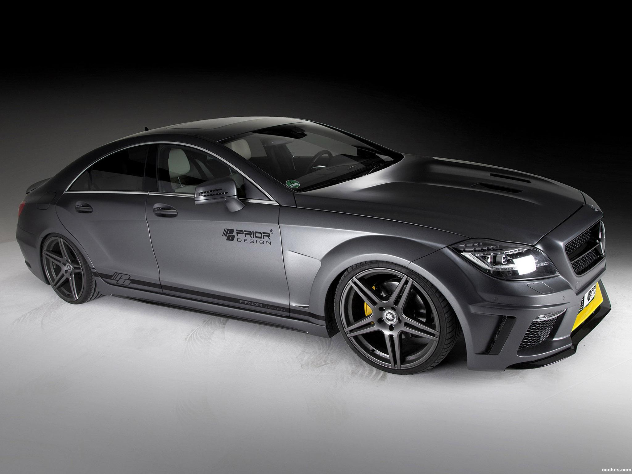 Foto 0 de Prior Design Mercedes Clase CLS PD550 Black Edition 2013