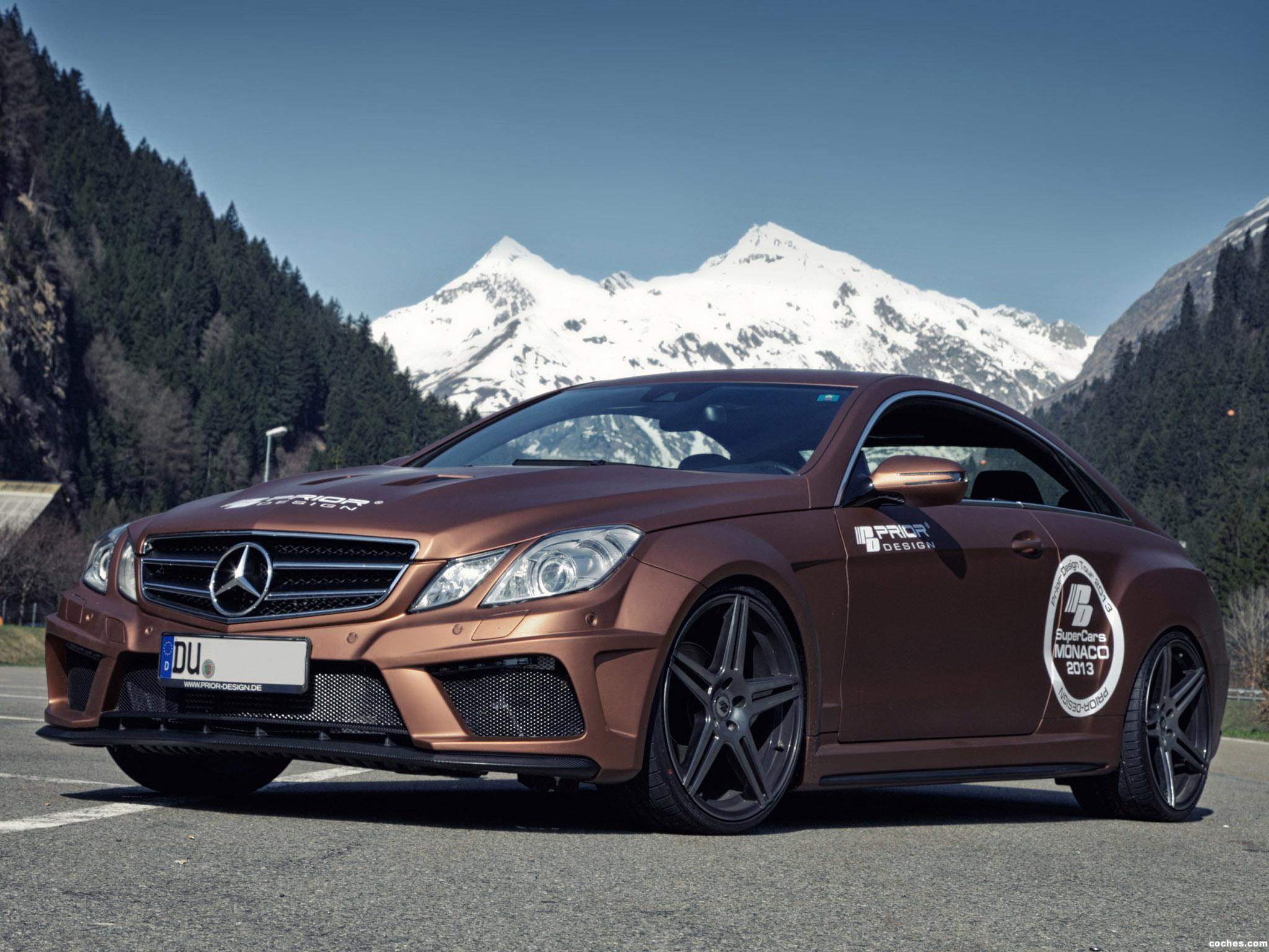 Foto 0 de Mercedes Prior Design Clase E Coupe PD850 Black Edition Wid 2013