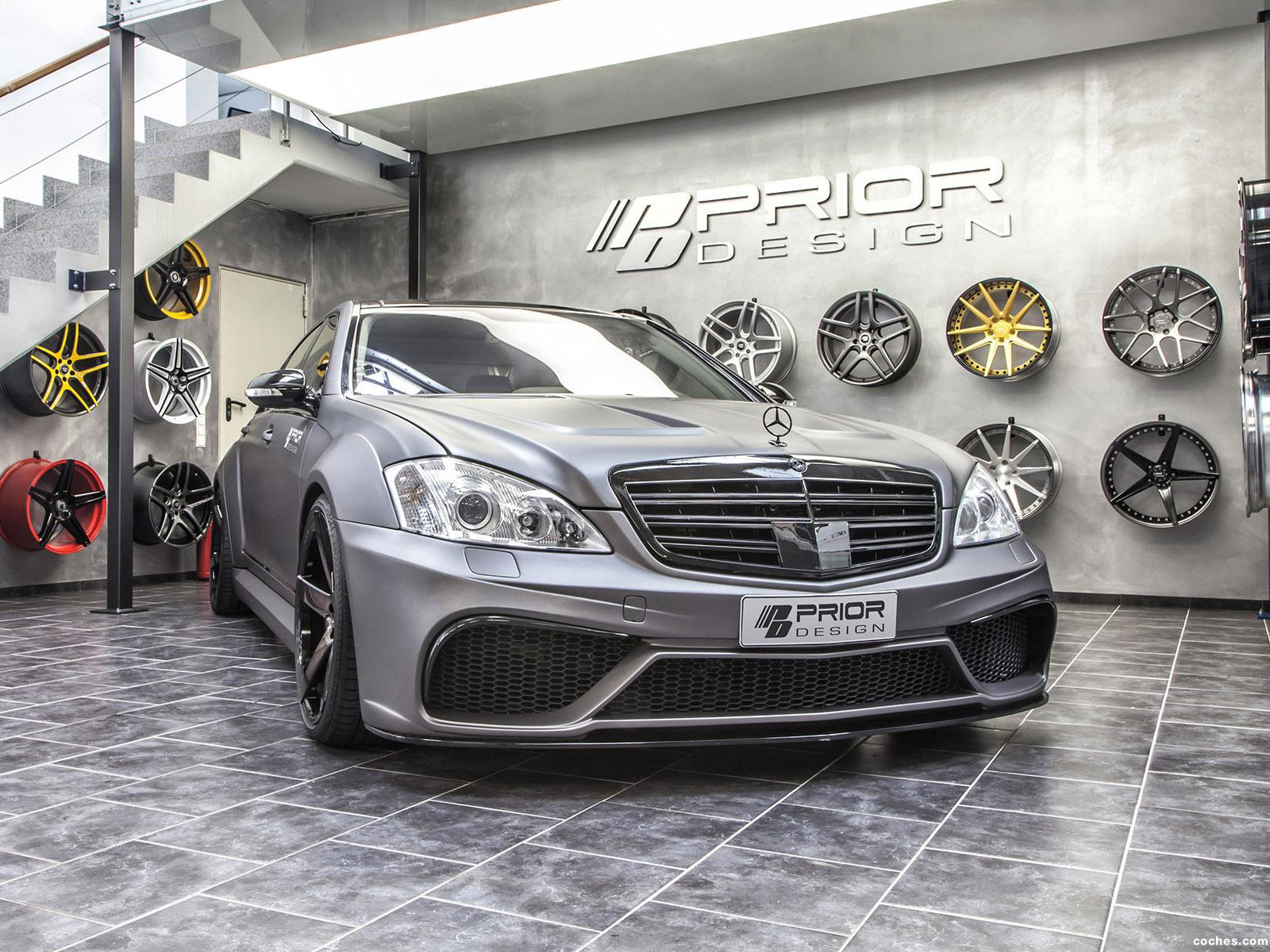 Foto 7 de Prior Design Mercedes Clase S Back Edition V3 Widebody Aero 2014
