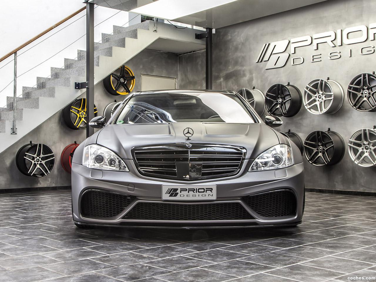 Foto 6 de Prior Design Mercedes Clase S Back Edition V3 Widebody Aero 2014