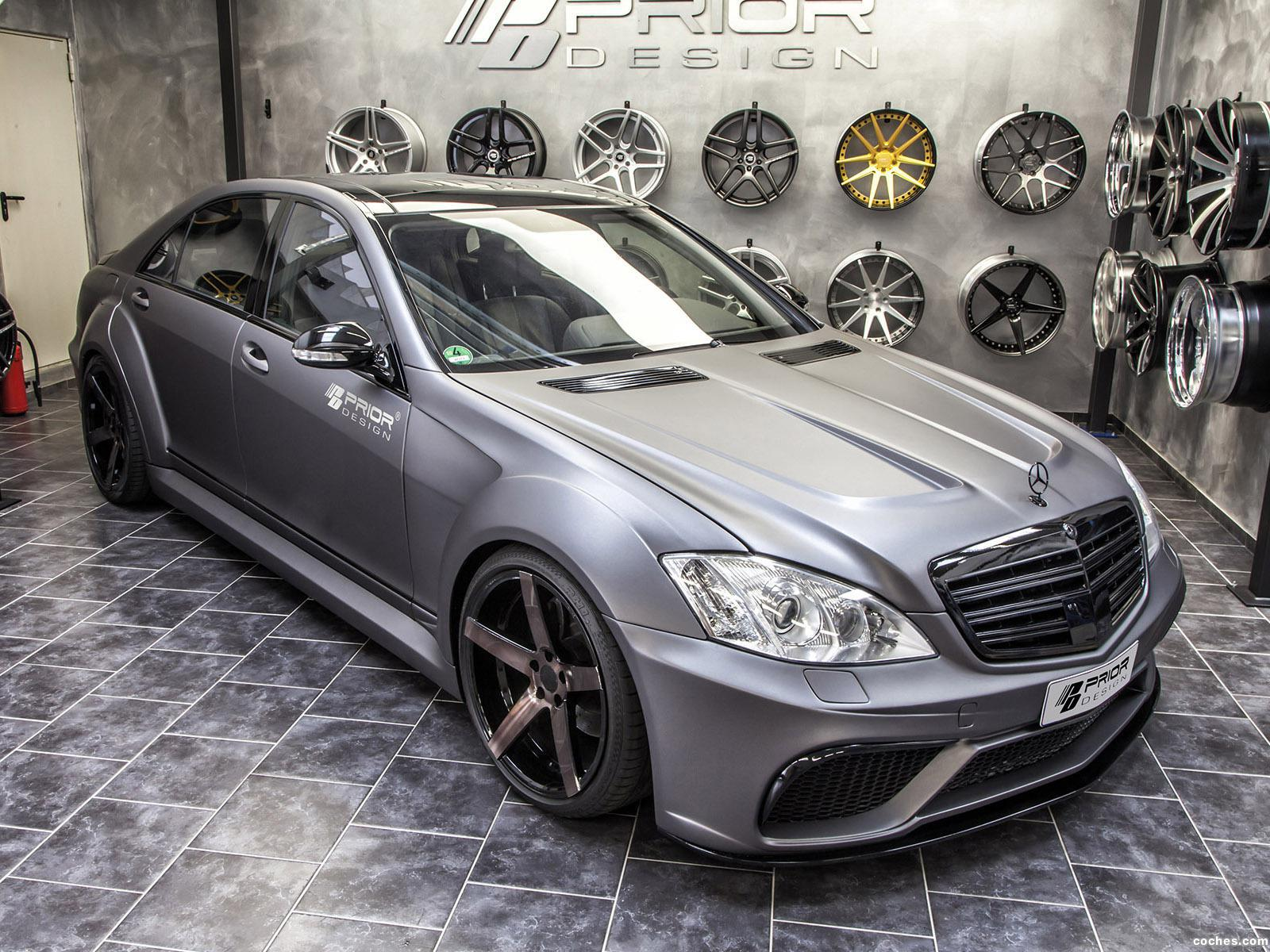 Foto 0 de Prior Design Mercedes Clase S Back Edition V3 Widebody Aero 2014
