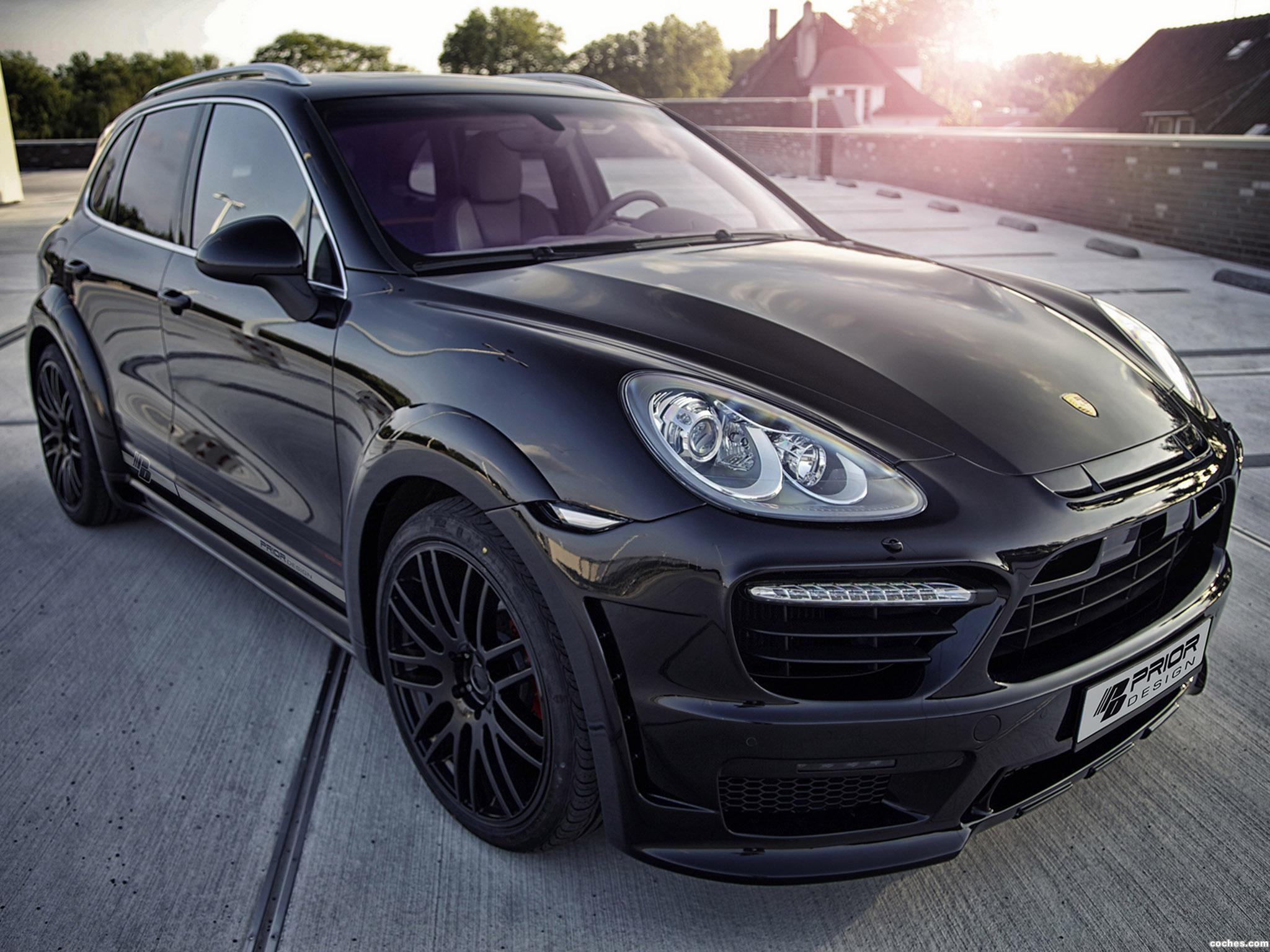 Foto 0 de Prior-Design Porsche Cayenne II Wide Body Kit 2013