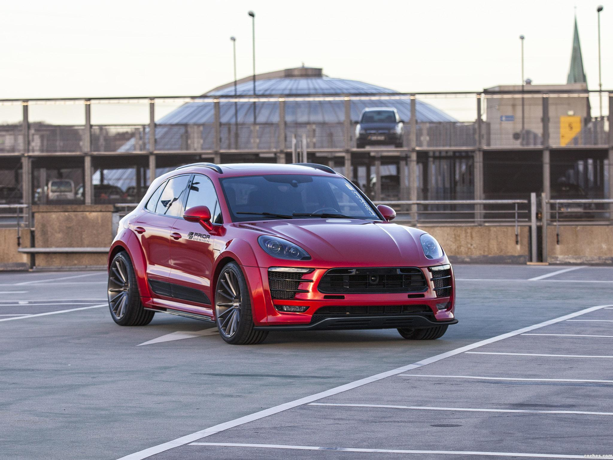 Foto 0 de Prior-Design Porsche Macan PD600M Widebody 2016