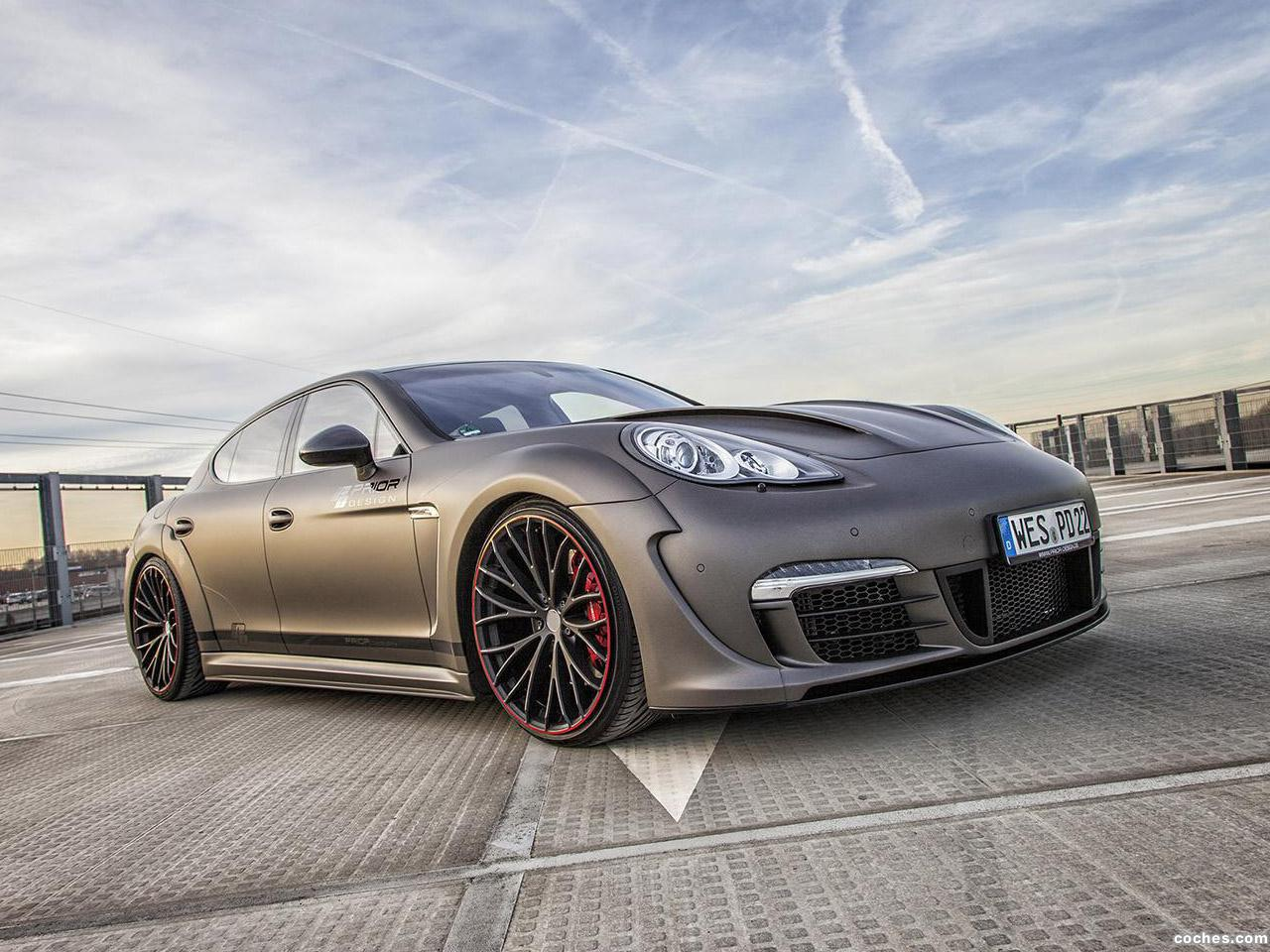 Foto 0 de Prior Design Porsche Panamera Wide Body Kit  2014