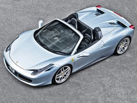 Fotos de Project Kahn Ferrari 458 Spider Blue 2013