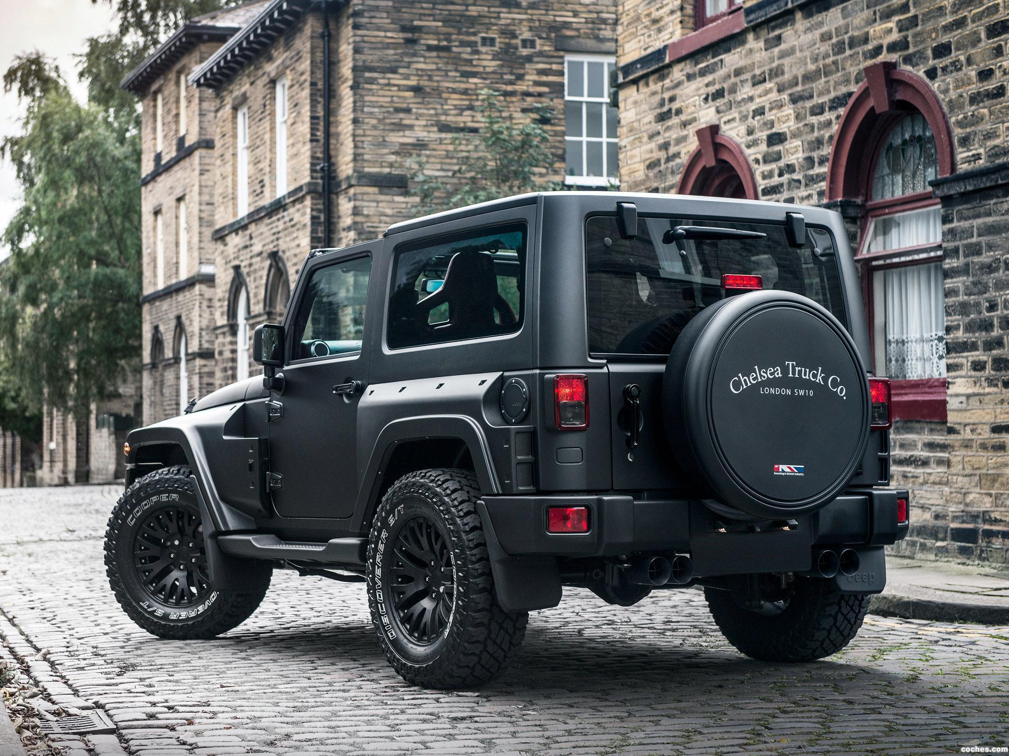 Foto 1 de Project Kahn Jeep Wrangler Black Hawk Edition 2016
