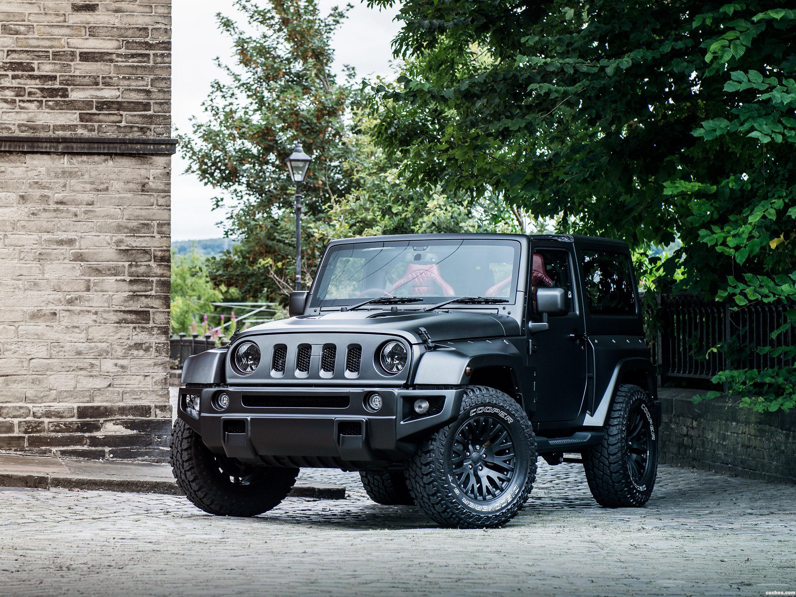 Foto 0 de Project Kahn Jeep Wrangler Black Hawk Edition 2016
