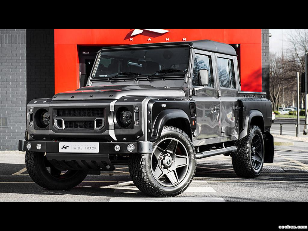 Foto 0 de Project Kahn Land Rover Defender XS 110 Pick Up 2015