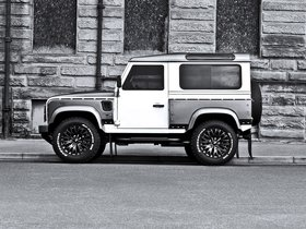 Ver foto 3 de Project Kahn Land Rover White And Pearl Grey XX 90 Defender 2013