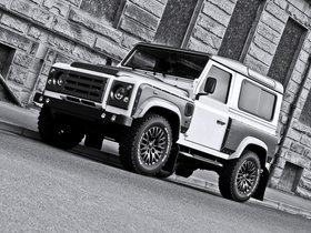 Ver foto 1 de Project Kahn Land Rover White And Pearl Grey XX 90 Defender 2013