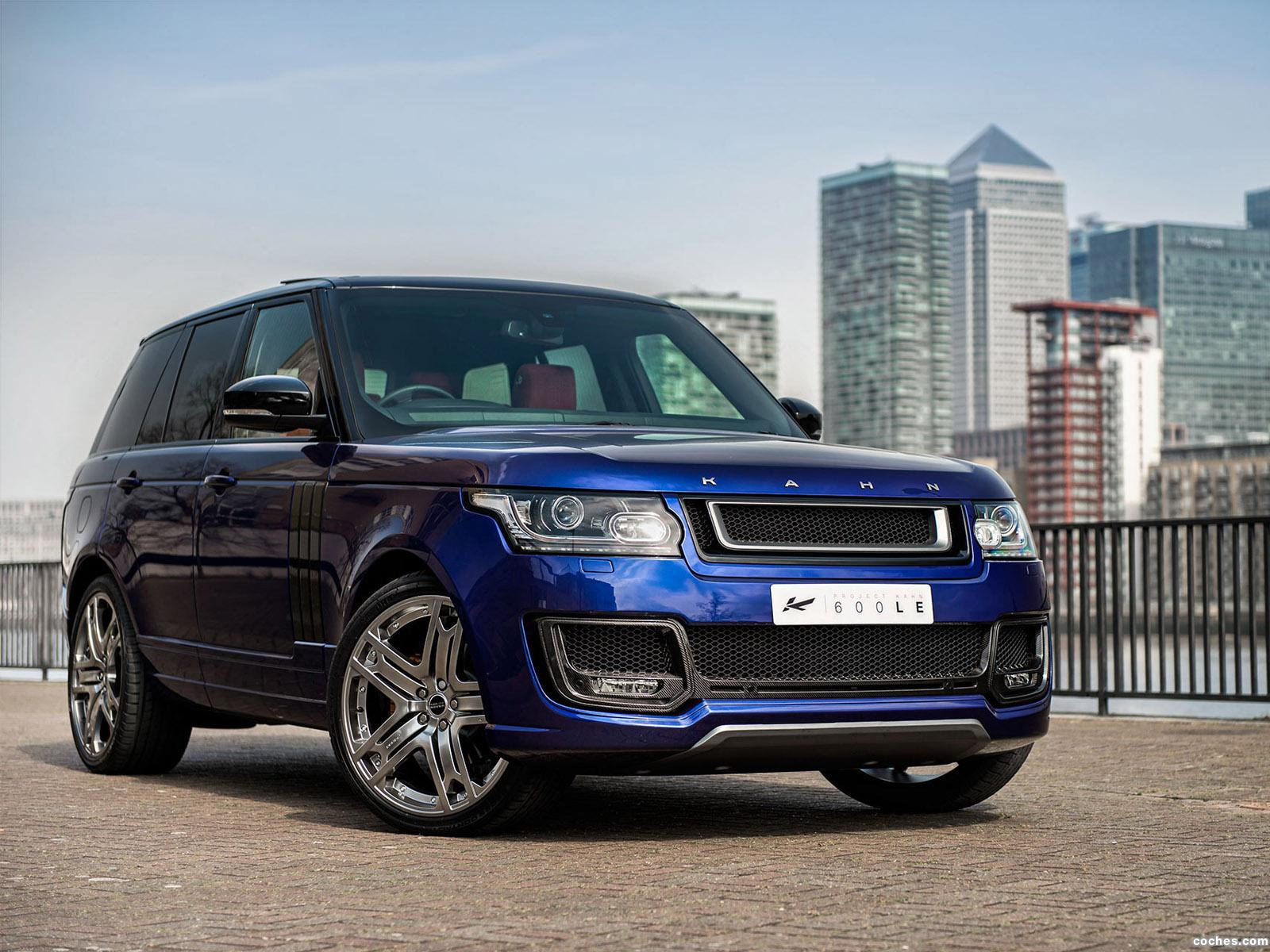 Foto 0 de Project Kahn Land Rover Range Rover 600 LE Bali Blue Luxury E 2014