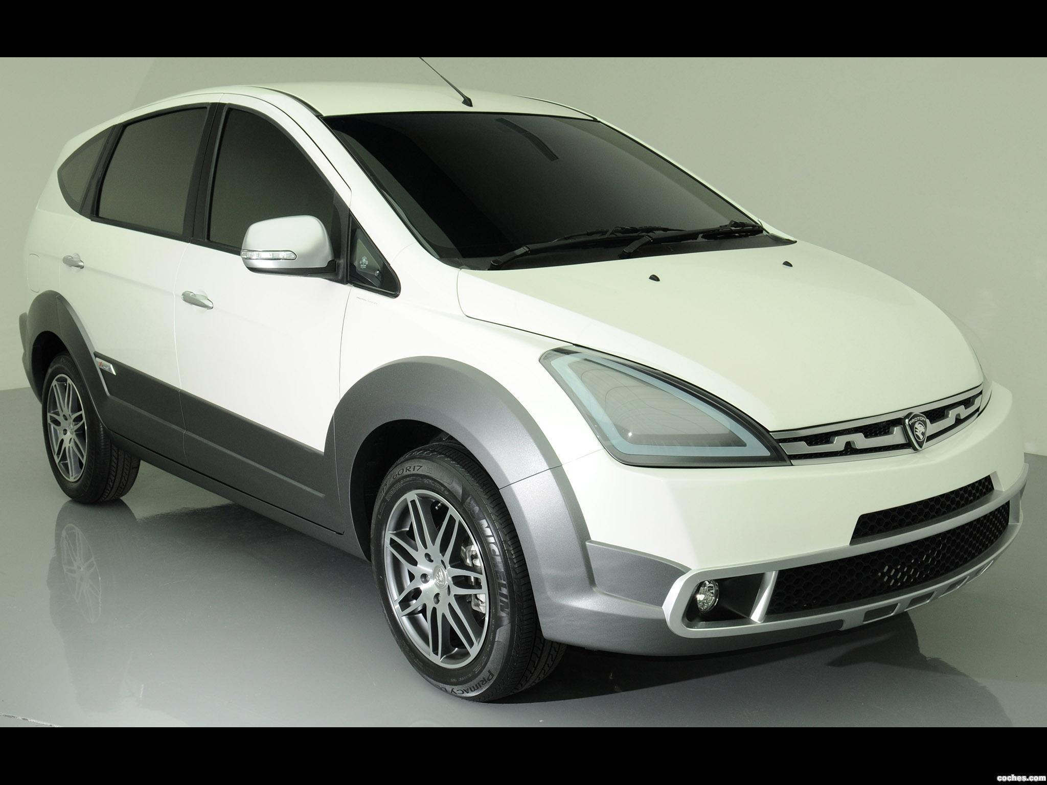 Foto 0 de Proton Lekiu SUV Concept 2010