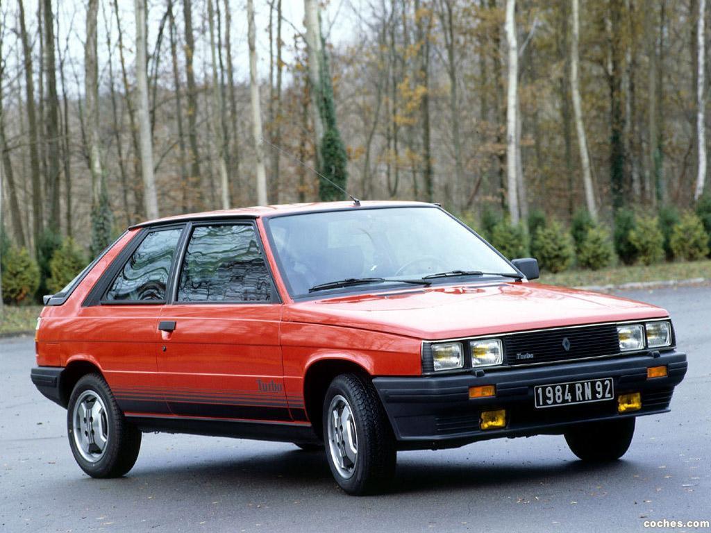Foto 0 de Renault Turbo 1981
