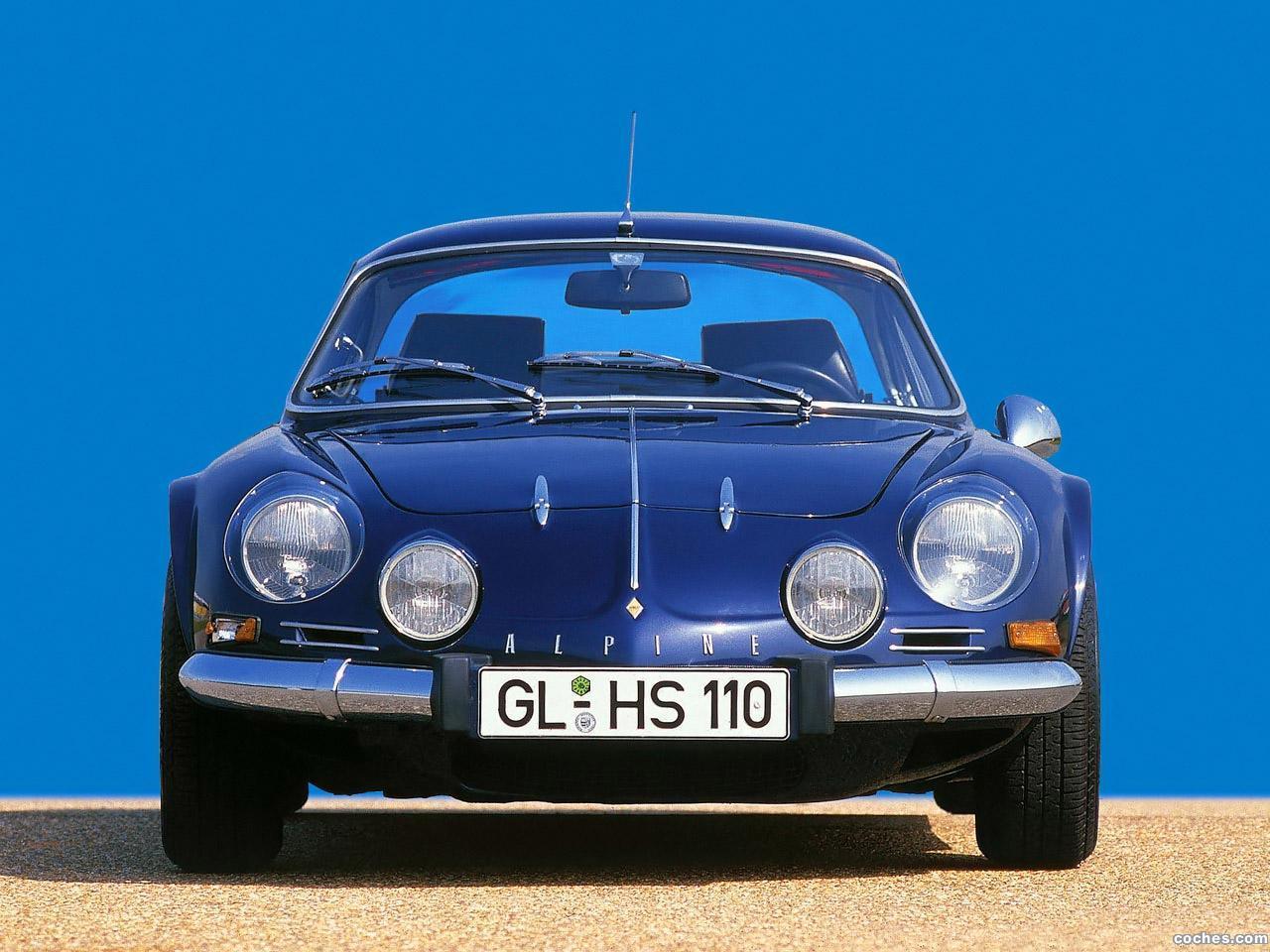 Foto 3 de Renault Alpine A110 1961