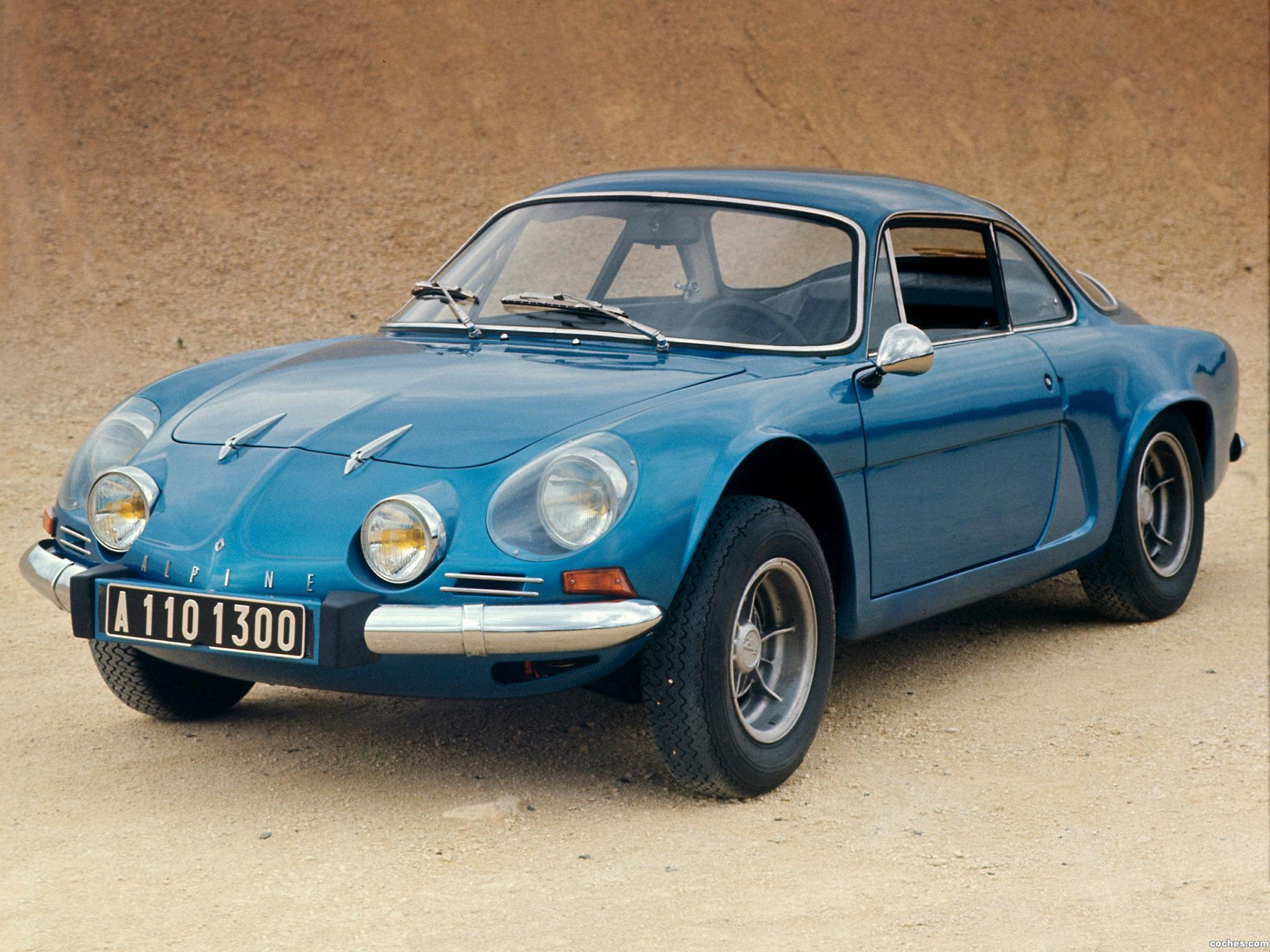 fotos de renault alpine a110 1961. Black Bedroom Furniture Sets. Home Design Ideas