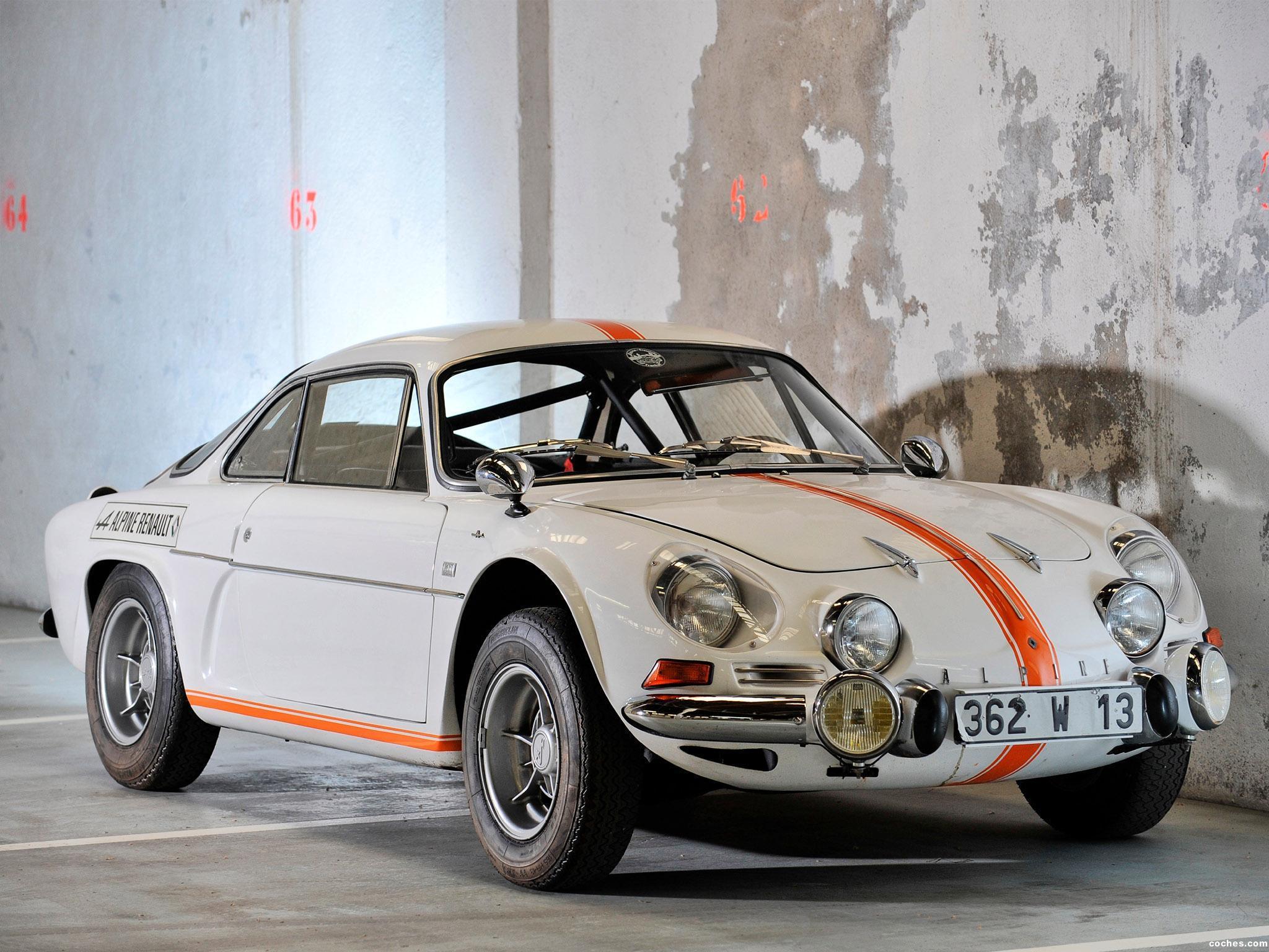 Foto 14 de Renault Alpine A110 1961