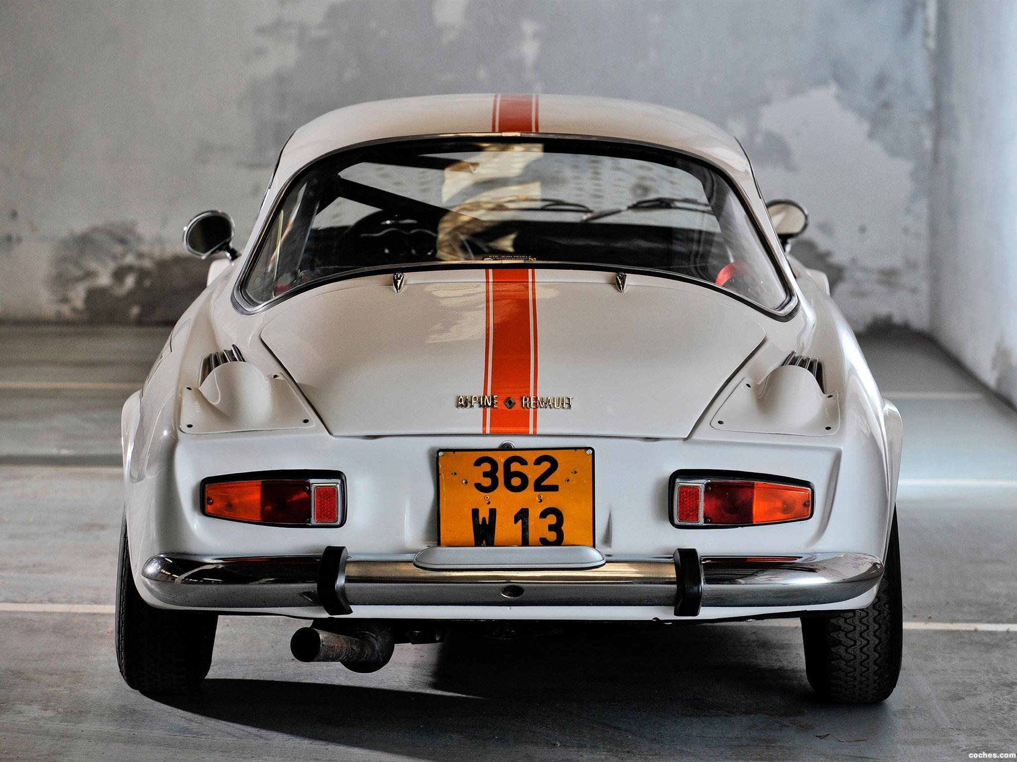 Foto 13 de Renault Alpine A110 1961