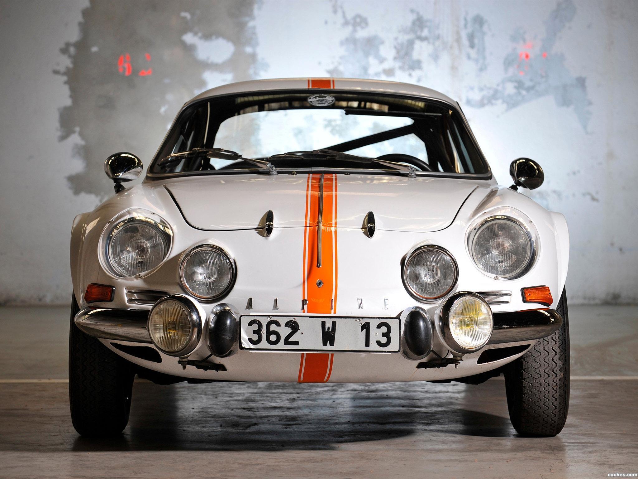 Foto 10 de Renault Alpine A110 1961