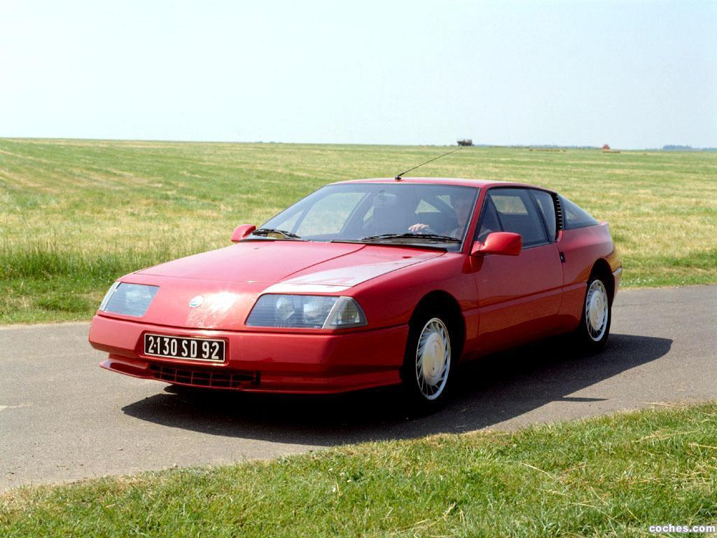 Foto 14 de Renault Alpine GTA V6 Turbo Mille Miles 1991