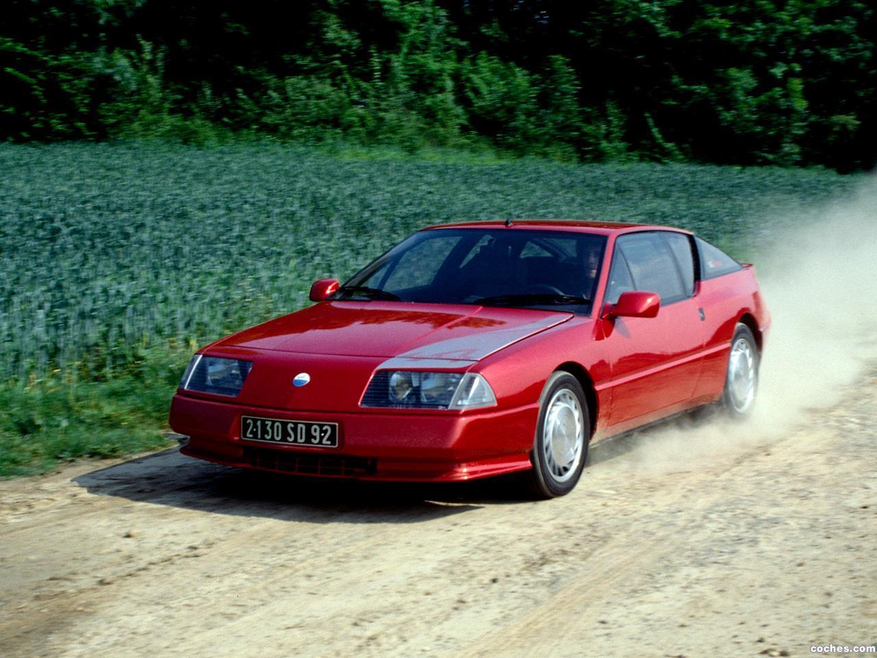 Foto 13 de Renault Alpine GTA V6 Turbo Mille Miles 1991