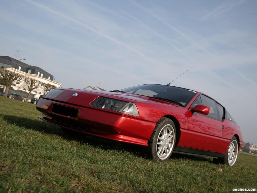 Foto 9 de Renault Alpine GTA V6 Turbo Mille Miles 1991