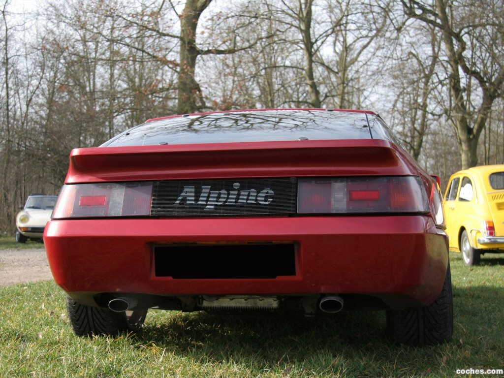 Foto 5 de Renault Alpine GTA V6 Turbo Mille Miles 1991