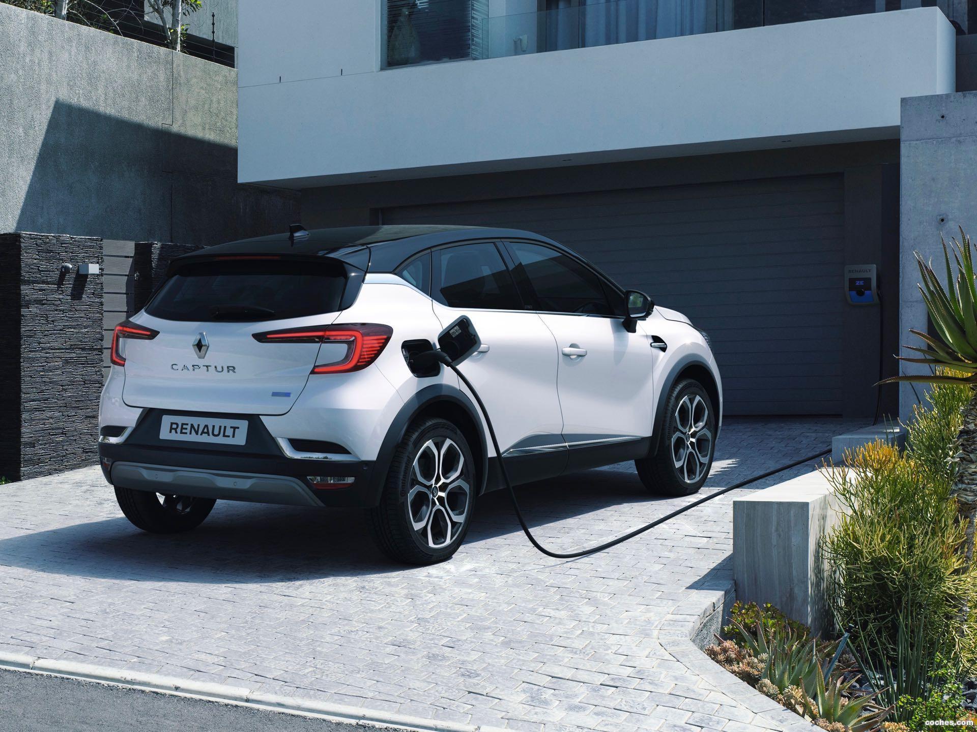 Foto 0 de Renault Captur E-Tech 2020