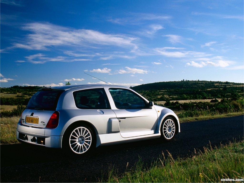 Foto 0 de Renault Clio II V6 Sport 2000