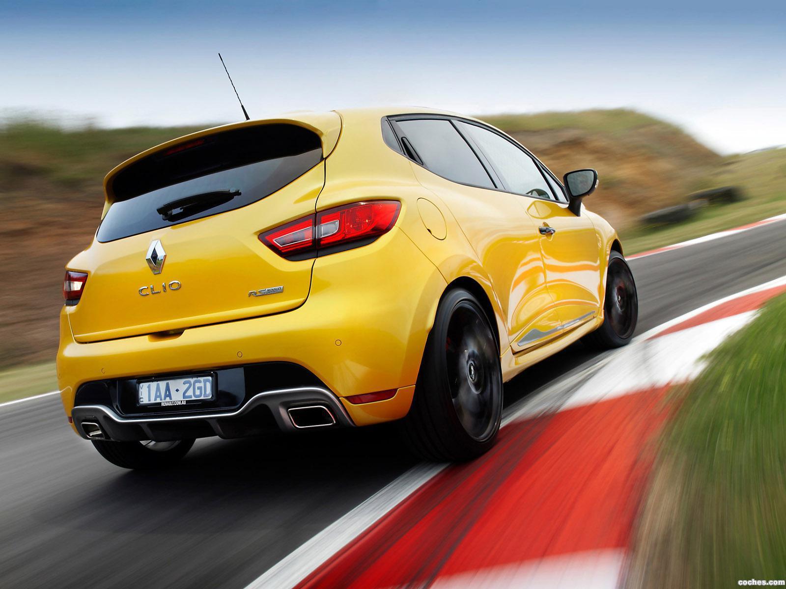 Foto 4 de Renault Clio R.S. 200 Australia 2014