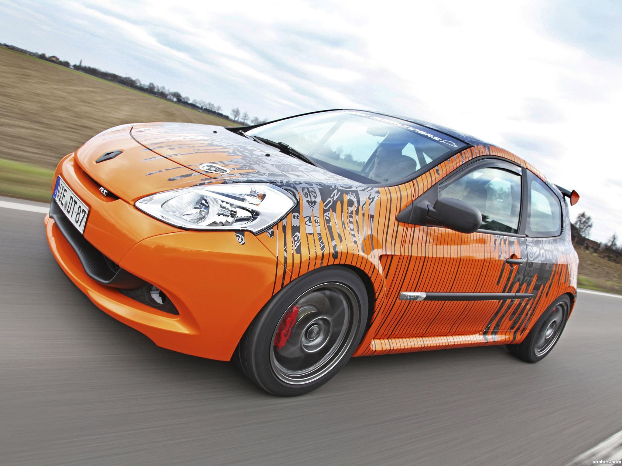 Foto 0 de Renault Clio RS 200 Cup Track Racer by Cam Shaft 2012