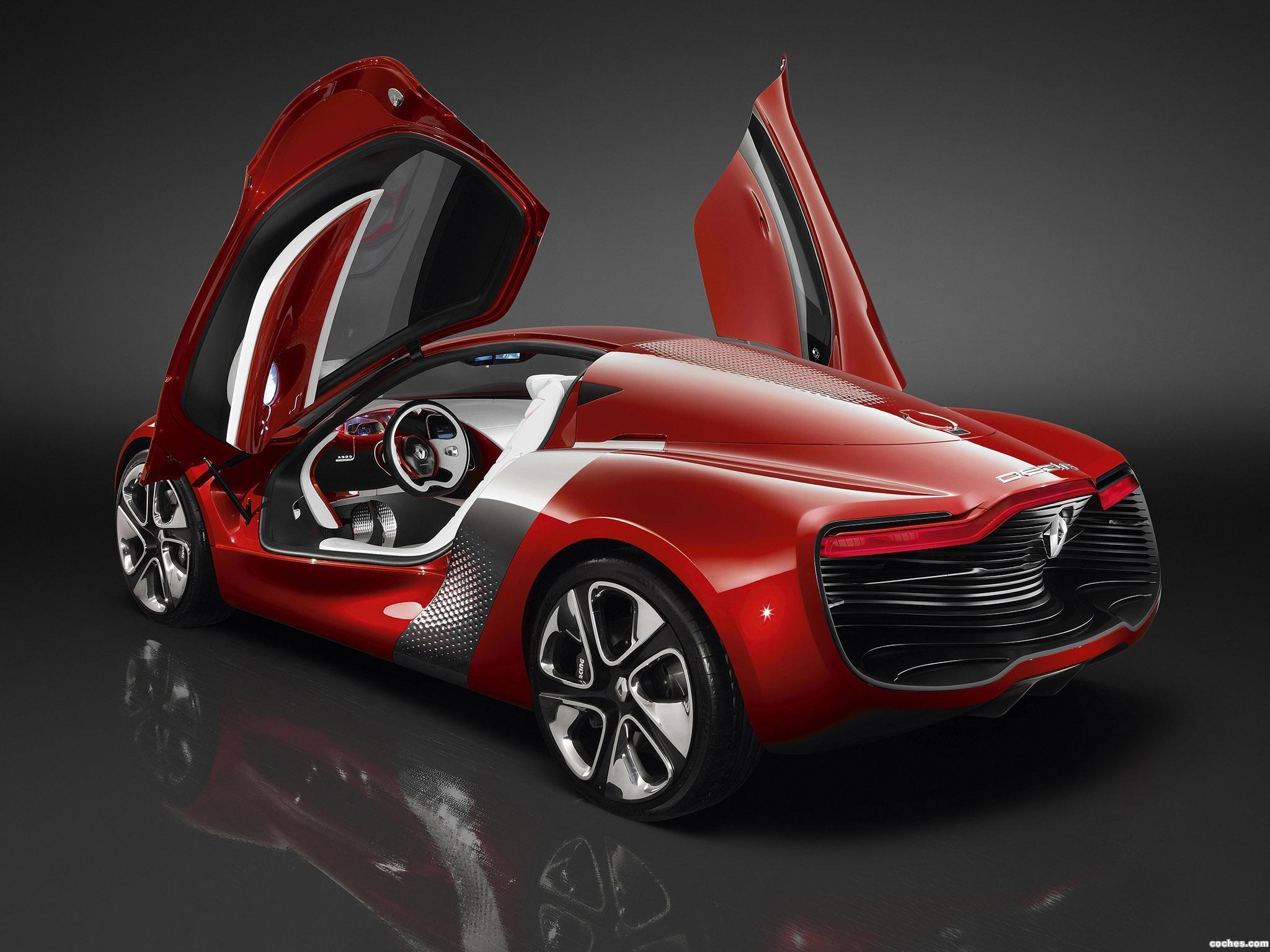 Foto 30 de Renault DeZir Concept 2010