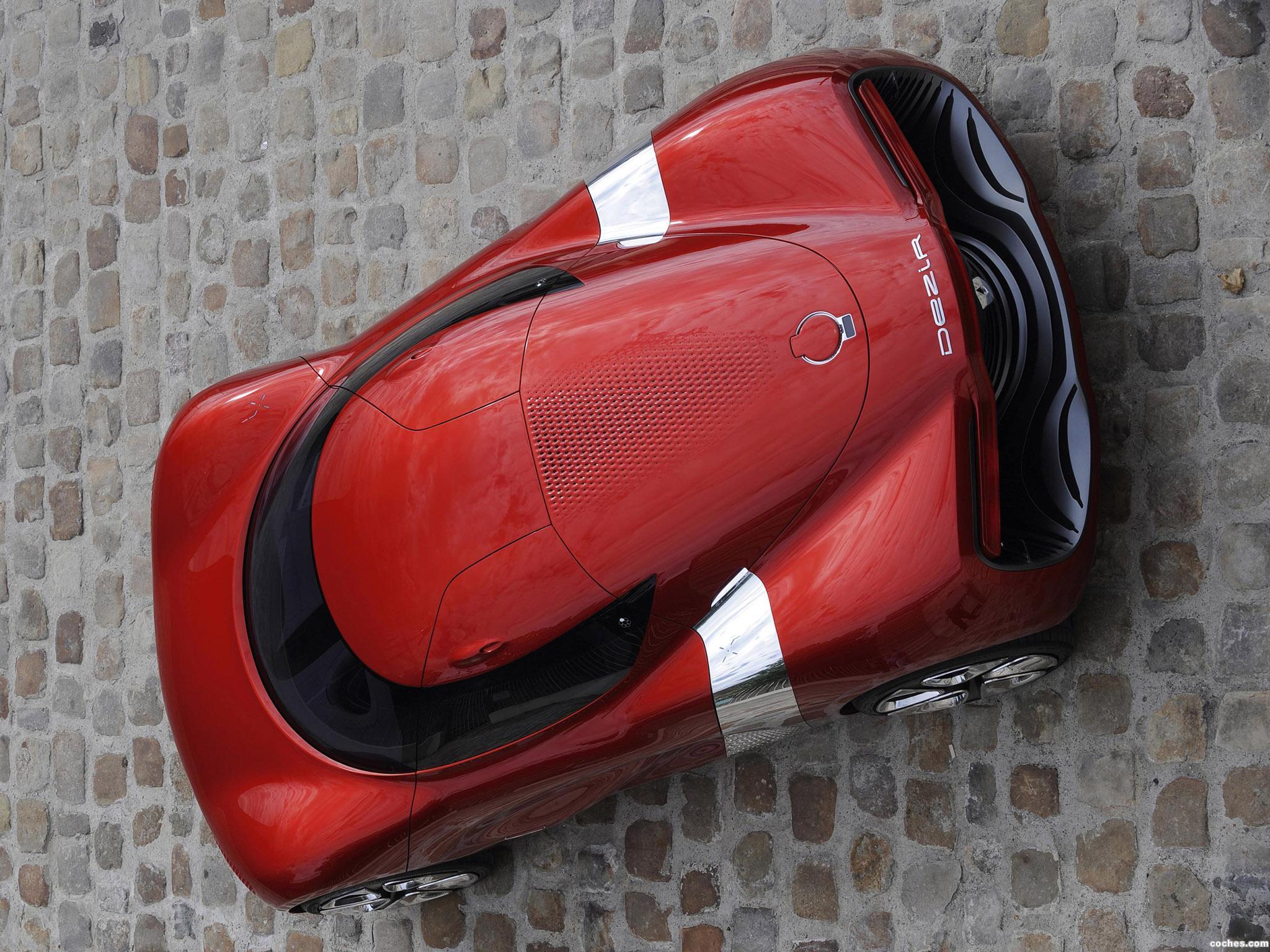 Foto 26 de Renault DeZir Concept 2010