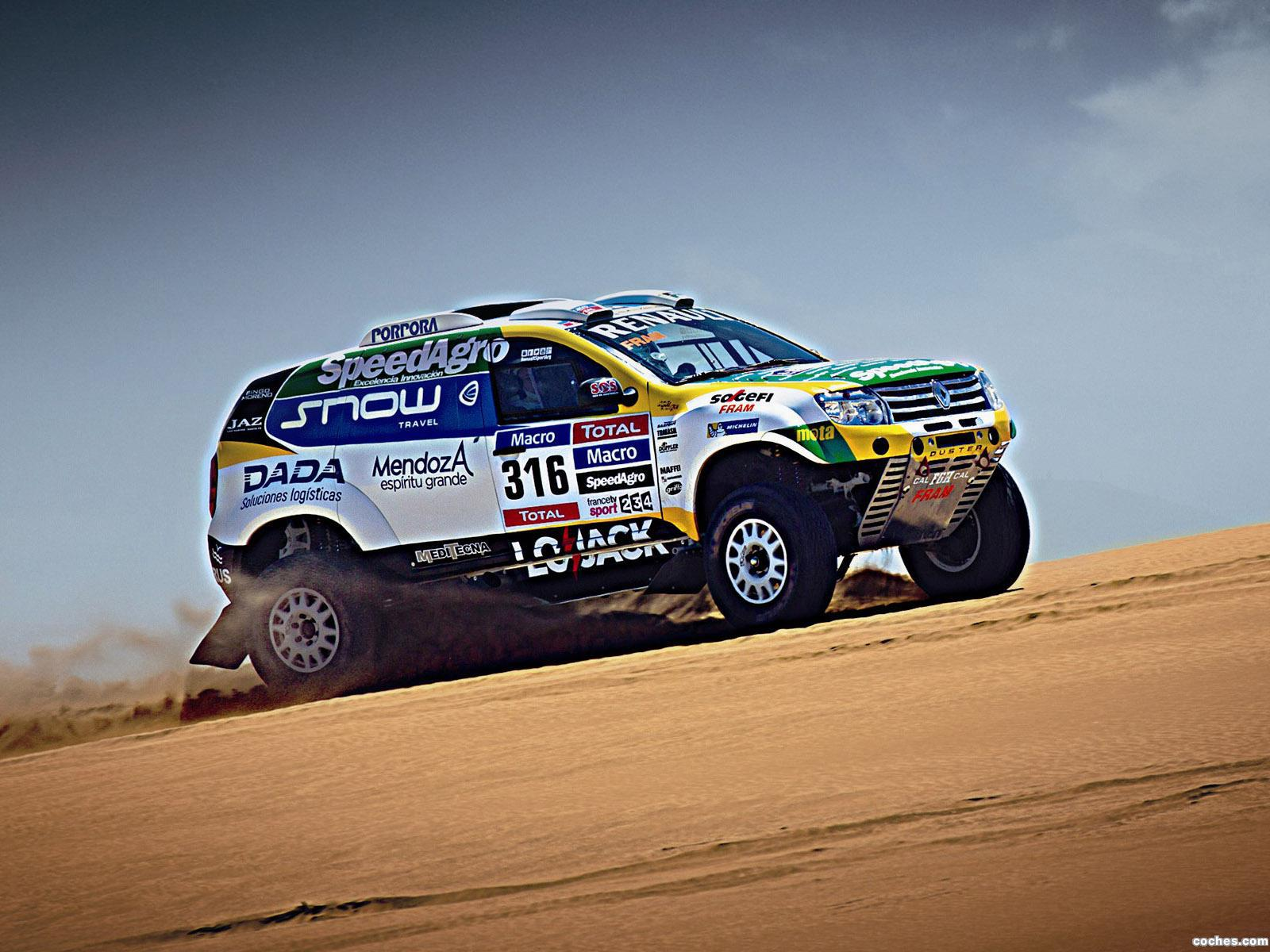 Foto 0 de Renault Duster Dakar Rally 2015