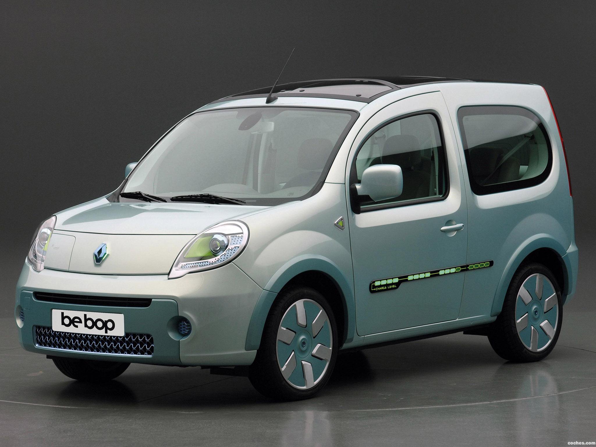 Foto 0 de Renault Kangoo Be Bop Z.E. Concept 2009