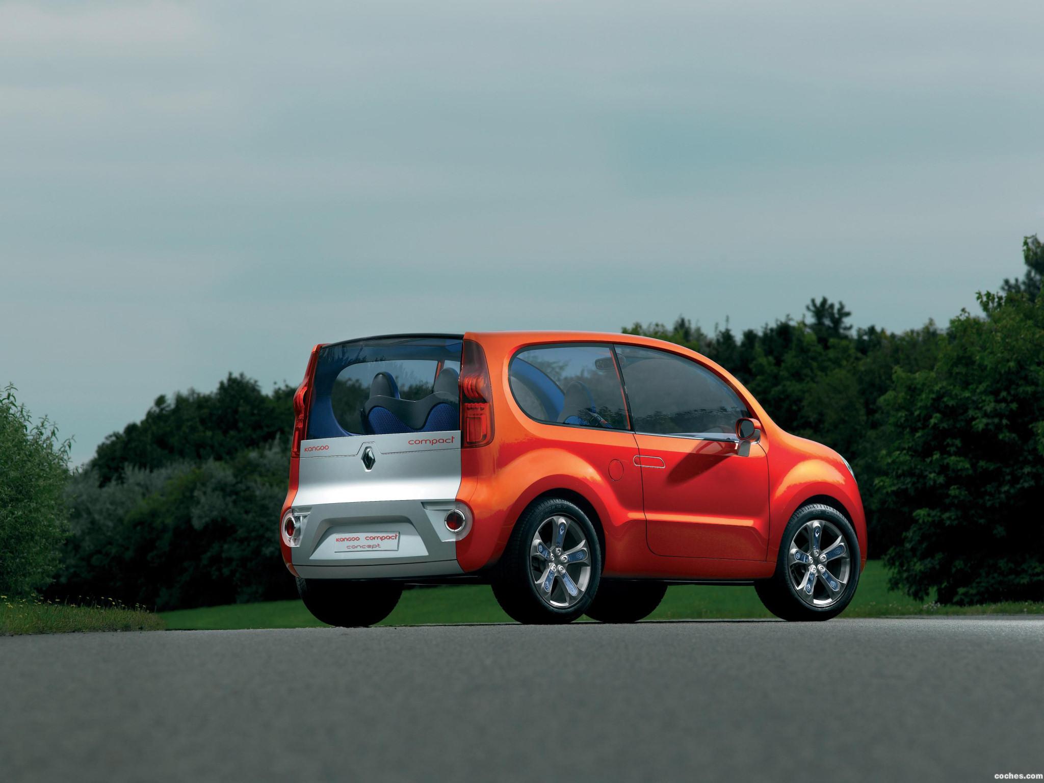 Foto 2 de Renault Kangoo Compact Concept 2007