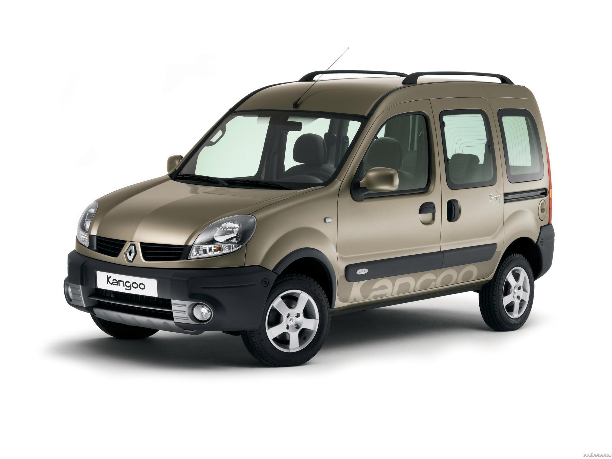 Foto 2 de Renault Kangoo Cross 2006