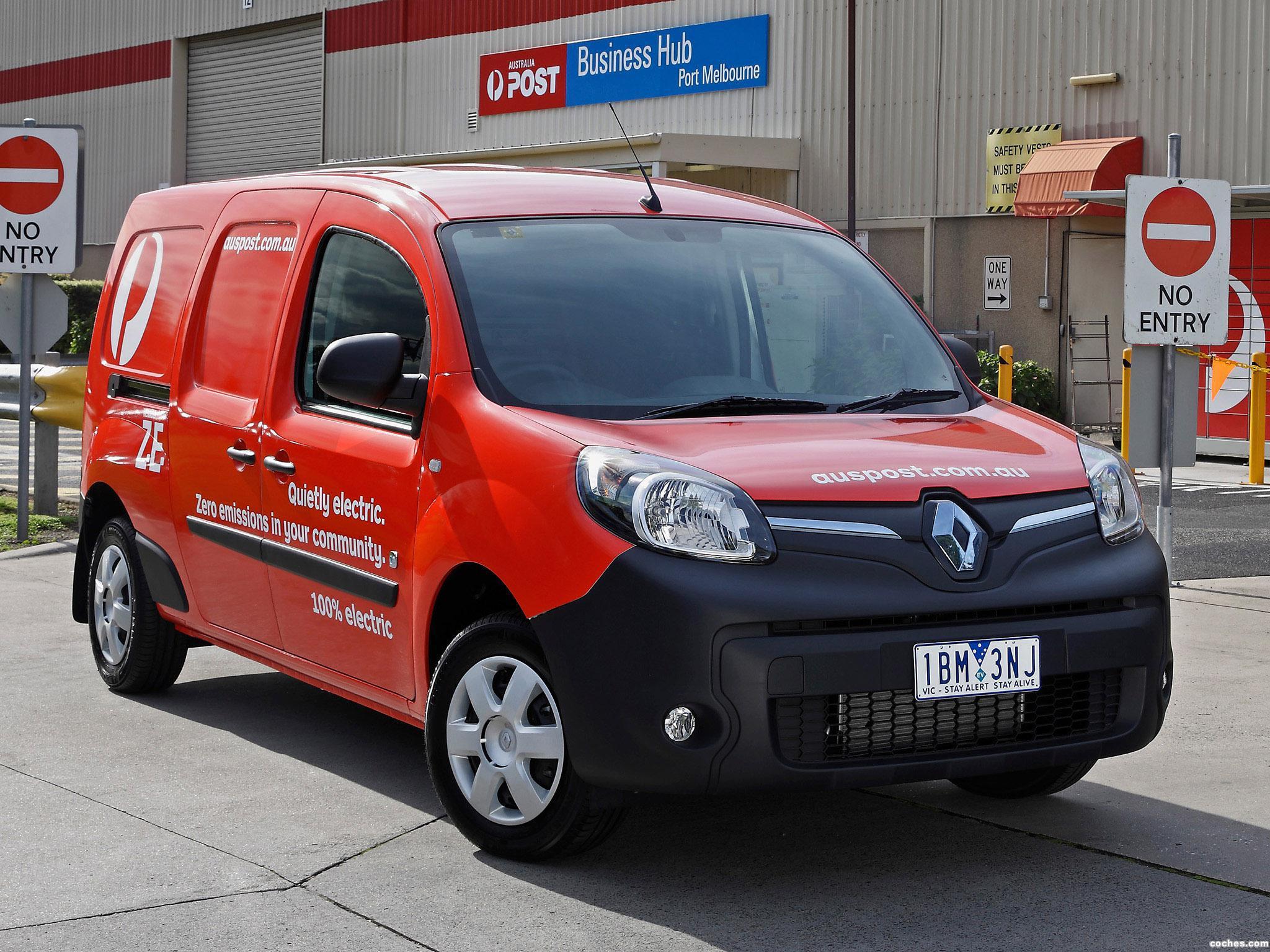 Foto 0 de Renault Kangoo Maxi Z.E. Australia 2014