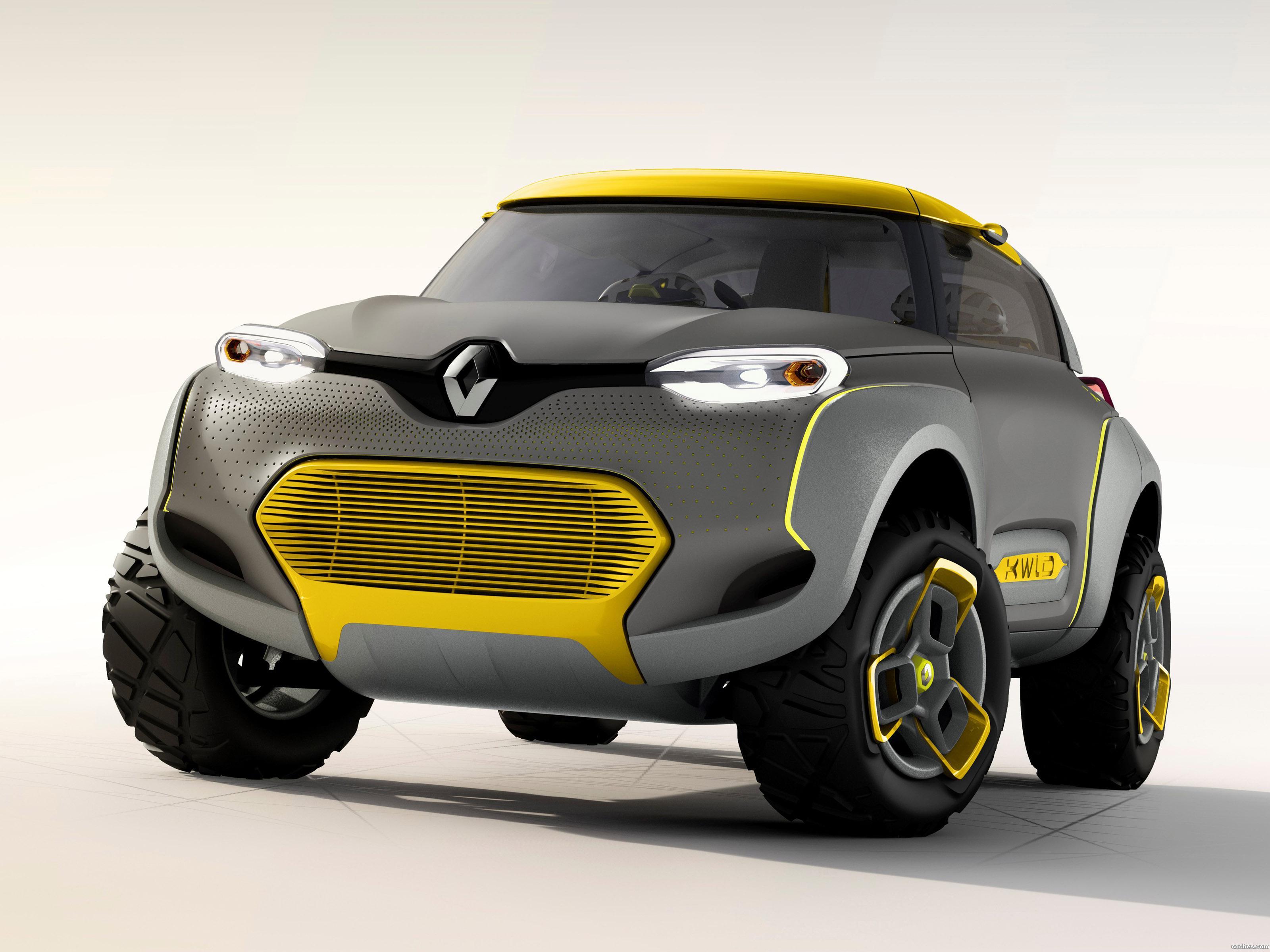 Foto 0 de Renault Kwid Concept 2014