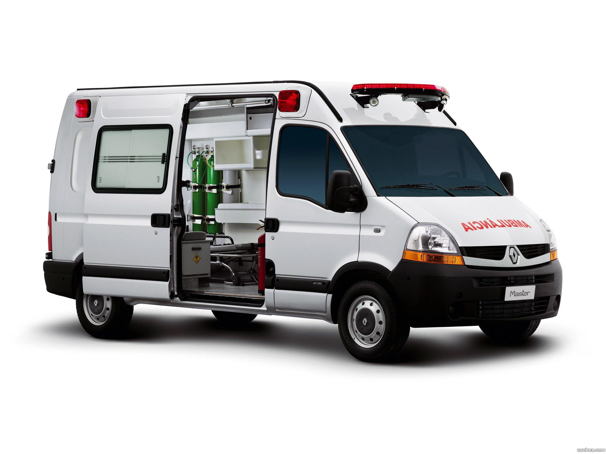 Foto 0 de Renault Master High Roof Ambulance Brasil 2009