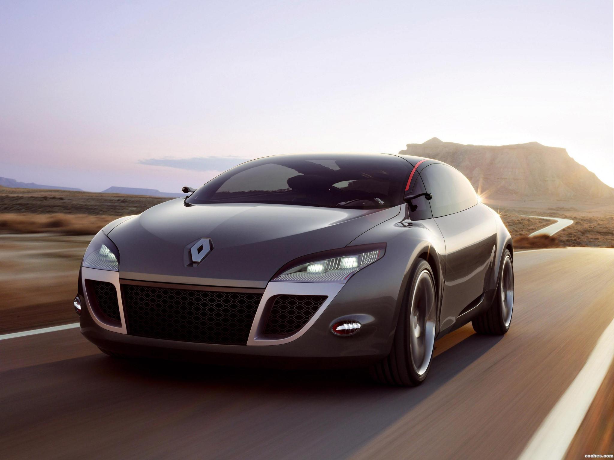 Foto 0 de Renault Megane Coupe Concept 2008