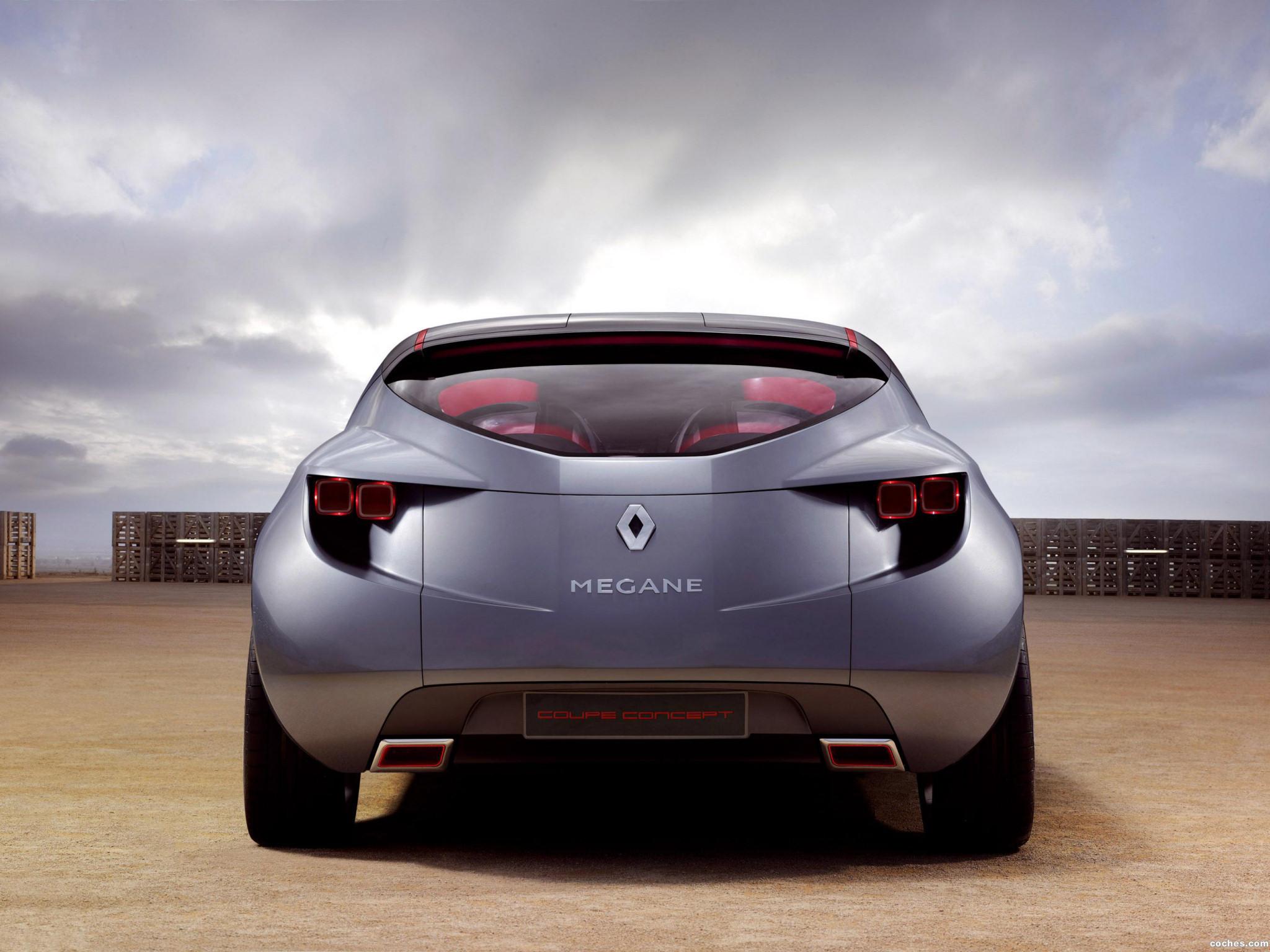 Foto 7 de Renault Megane Coupe Concept 2008