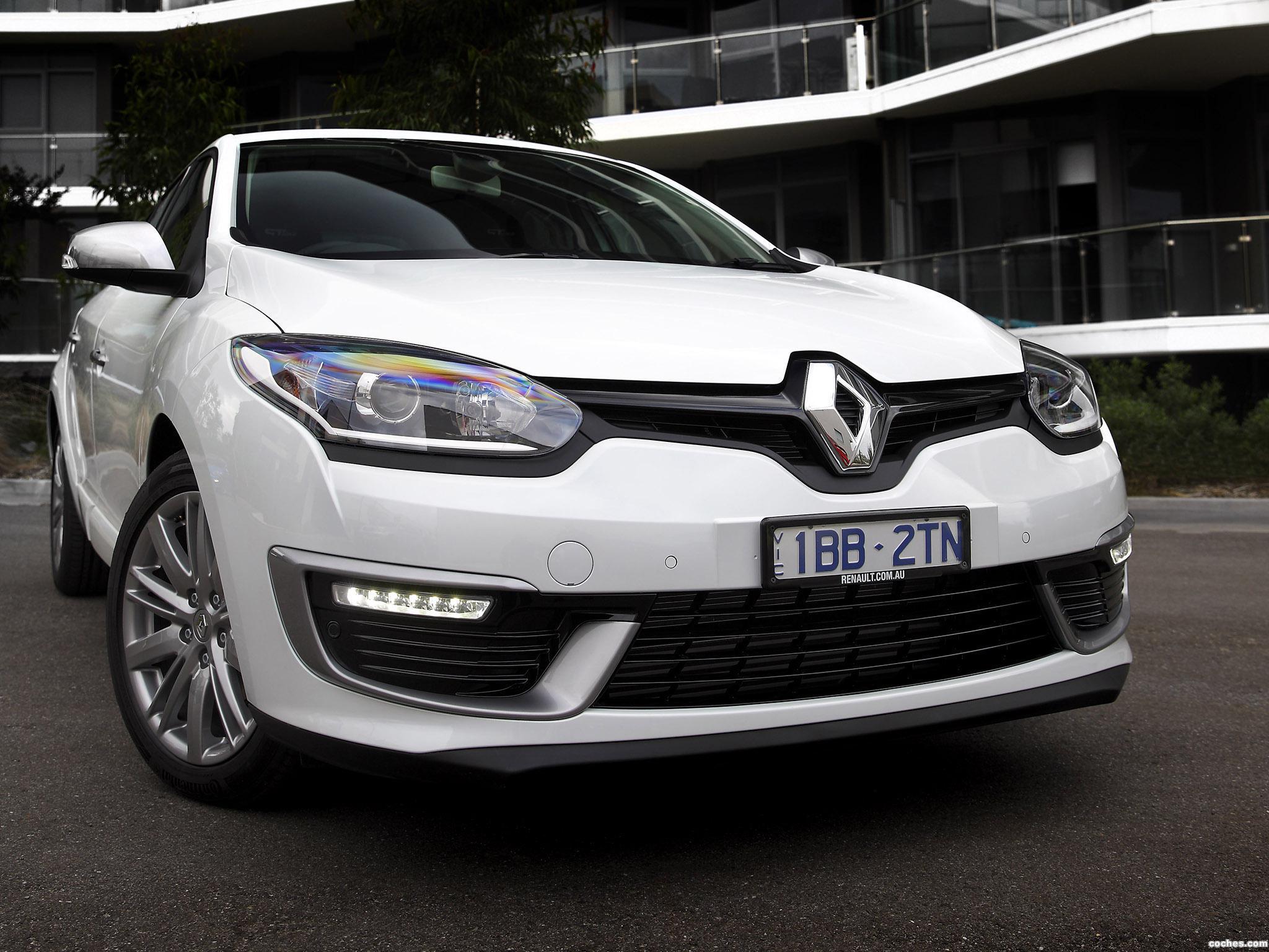 Foto 0 de Renault Megane GT Line Australia 2014